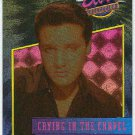 Elvis Presley 1992 Dufex Foil Card #12 Crying In The Chapel