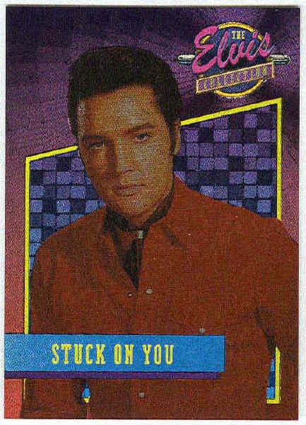 Elvis Presley 1992 Dufex Foil Card #33 Stuck On You