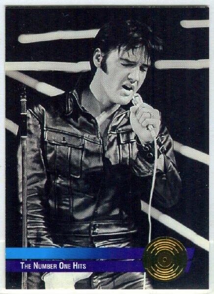 Elvis Presley 1992 #15 Gold Record Foil Trading Card