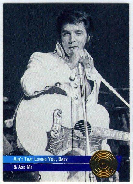Elvis Presley 1992 #44 Gold Record Foil Trading Card