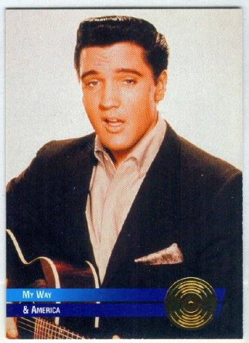 Elvis Presley 1992 #50 Gold Record Foil Trading Card