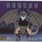 Gargoyles 1996 #2 Static Glow Sticker Chase Card Hudson