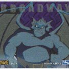 Gargoyles 1996 #5 Static Glow Sticker Card Broadway