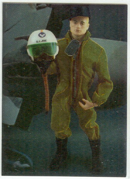 GI Joe 30th Salute #C6 Chromium Chase Card 1964 Pilot