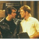 Happy Days Promo Card #1 The Fonz and Richie