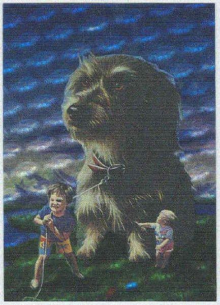 Jim Warren Beyond Bizarre Spectra #S2 Card The Pet