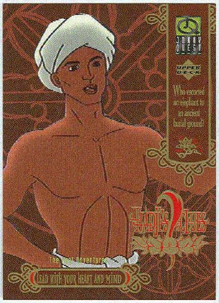 Jonny Quest 1996 #HC1 Hadjis Clues Trading Card