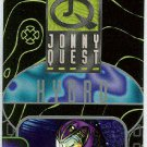 Jonny Quest 1996 #QC4 Puzzle Trading Card