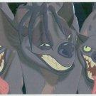 Lion King 1994 Series 1 #F9 Foil Card Shenzi Banzai Ed