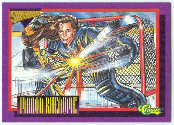 Deathwatch Superhero #SS2 Manon Rheaume Chase Card