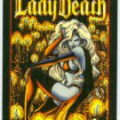 Lady Death Series 2 Promo Chromium Card Black Background