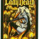 Lady Death Series 2 Promo Chromium Card Black Background