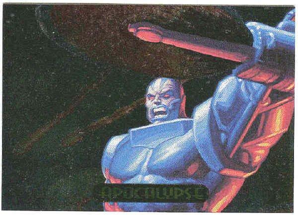 Marvel Masterpieces 1994 #1 Powerblast Card Apocalypse