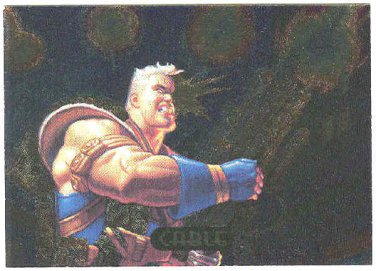 Marvel Masterpieces 1994 #3 Powerblast Chase Card Cable