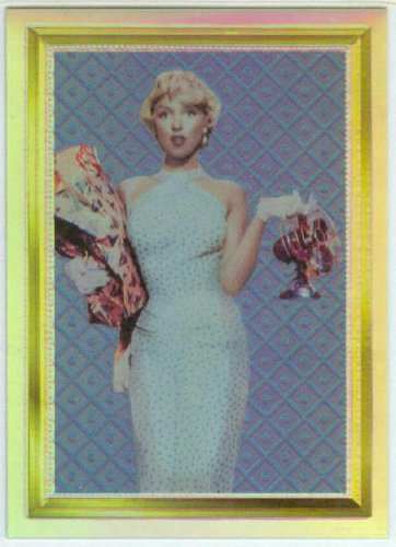 Marilyn Monroe Series 2 1995 #2 Holochrome Chase Card