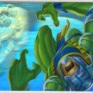 Marvel Annual 95 Flair #7 HoloBlast Card Hulk vs Trauma