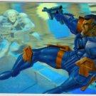 Marvel Annual 95 Flair #8 HoloBlast Card Punisher 2099