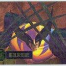 Marvel Annual 95 Flair #1 PowerBlast Card Wolverine