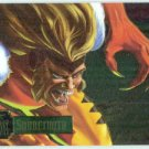 Marvel Annual 95 Flair #9 PowerBlast Card Sabretooth