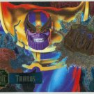 Marvel Annual 95 Flair #21 PowerBlast Chase Card Thanos