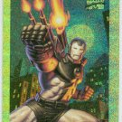 Marvel Masterpieces 1994 #10 Gold Holofoil Card War Machine