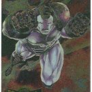 Marvel Metal 1995 #17 Blaster Chase Card War Machine