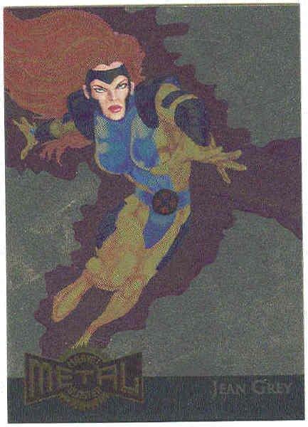 Marvel Metal #8 Gold Blaster Chase Card Jean Grey