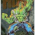 Marvel Universe 1994 Silver #5 Powerblast Card Hulk
