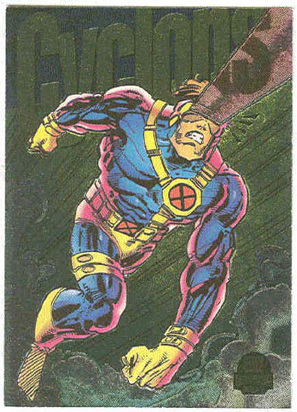 Marvel Universe 1994 Powerblast #8 Chase Card Cyclops
