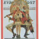 Norman Rockwell 1995 Nostalgic Notes #3 Chase Card