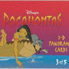 Pocahontas 1995 3D Panorama #3 Chase Trading Card