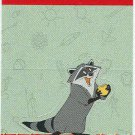 Pocahontas 1995 #6 Meeko Stand-Up Chase Trading Card