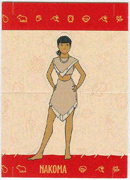 Pocahontas 1995 #9 Nakoma Stand-Up Chase Trading Card