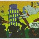 Ren And Stimpy Foil Post Card #E2 Dough Gooder