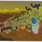 Ren And Stimpy Foil Post Card #E5 Great Wallpaper