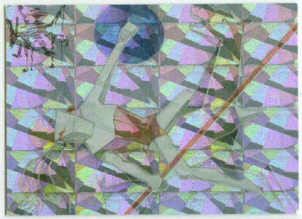Salvador Dali #1 Magnachrome Horseplay Chase Card