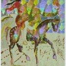 Salvador Dali #3 Magnachrome Horseplay Chase Card
