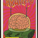 Simpsons 1994 Radioactive Man #R1 Brain-O Magnificent Card