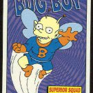 Simpsons 1994 Radioactive Man #R2 Bug Boy Card