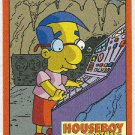 Simpsons 1994 Bartman #B1 Chase Card Houseboy