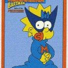 Simpsons 1994 Bartman #B3 Chase Card Maggeena