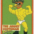 Simpsons 1994 Bartman #B5 Chase Card The Angry Scotsman
