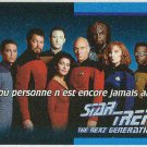 Star Trek TNG #O1D French Language Trading Card