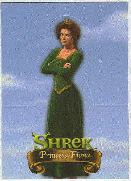 Shrek Stand Up #S3 Princess Fiona Chase Trading Card