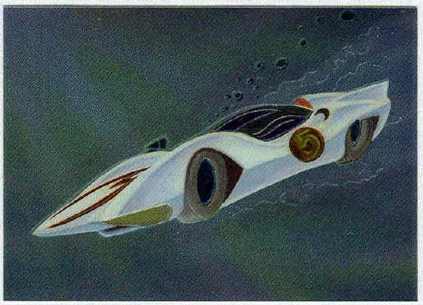 Speed Racer Chromium #C3 The Mach 5 Chase Trading Card