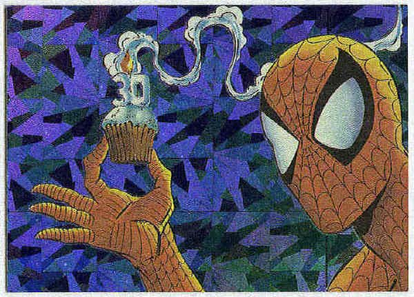 Spider-Man Series 2 30th Anniversary #P10 Prism Card