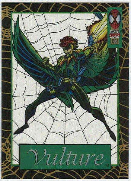 Spider-Man Amazing Cel #8 Vulture Chase Trading Card