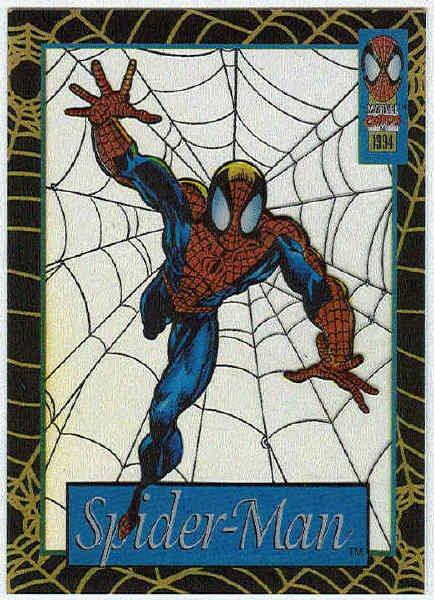 Spider-Man Amazing Cel #10 Spider-Man Chase Card