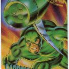 Spider-Man Fleer Clear Chrome #7 Chase Card Scorpion