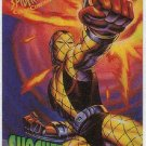 Spider-Man Fleer Clear Chrome #8 Chase Card Shocker
